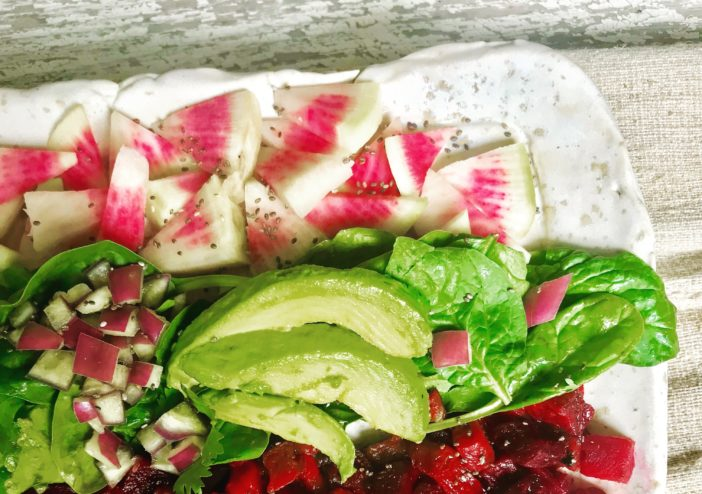 Lookin' Like a Summer Christmas Salad